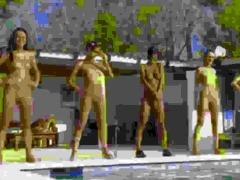 six nude